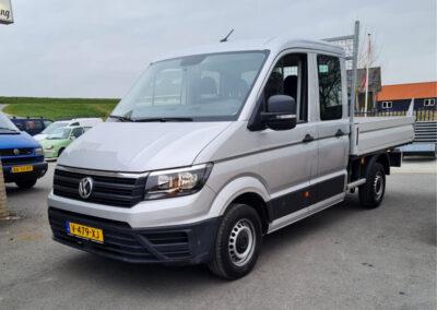 Bedrijfsauto in bedrijfskleur spuiten door Autoschade De Jong (Resultaat)